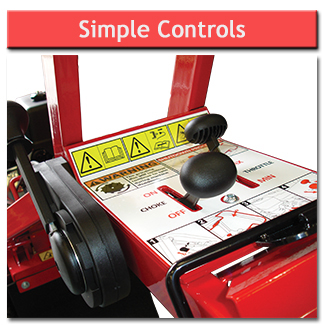 Stump Grinder - Simple Controls