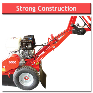 Stump Grinder - Strong Construction