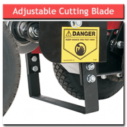 Turf Cutter – Adjustable Cutting Blade