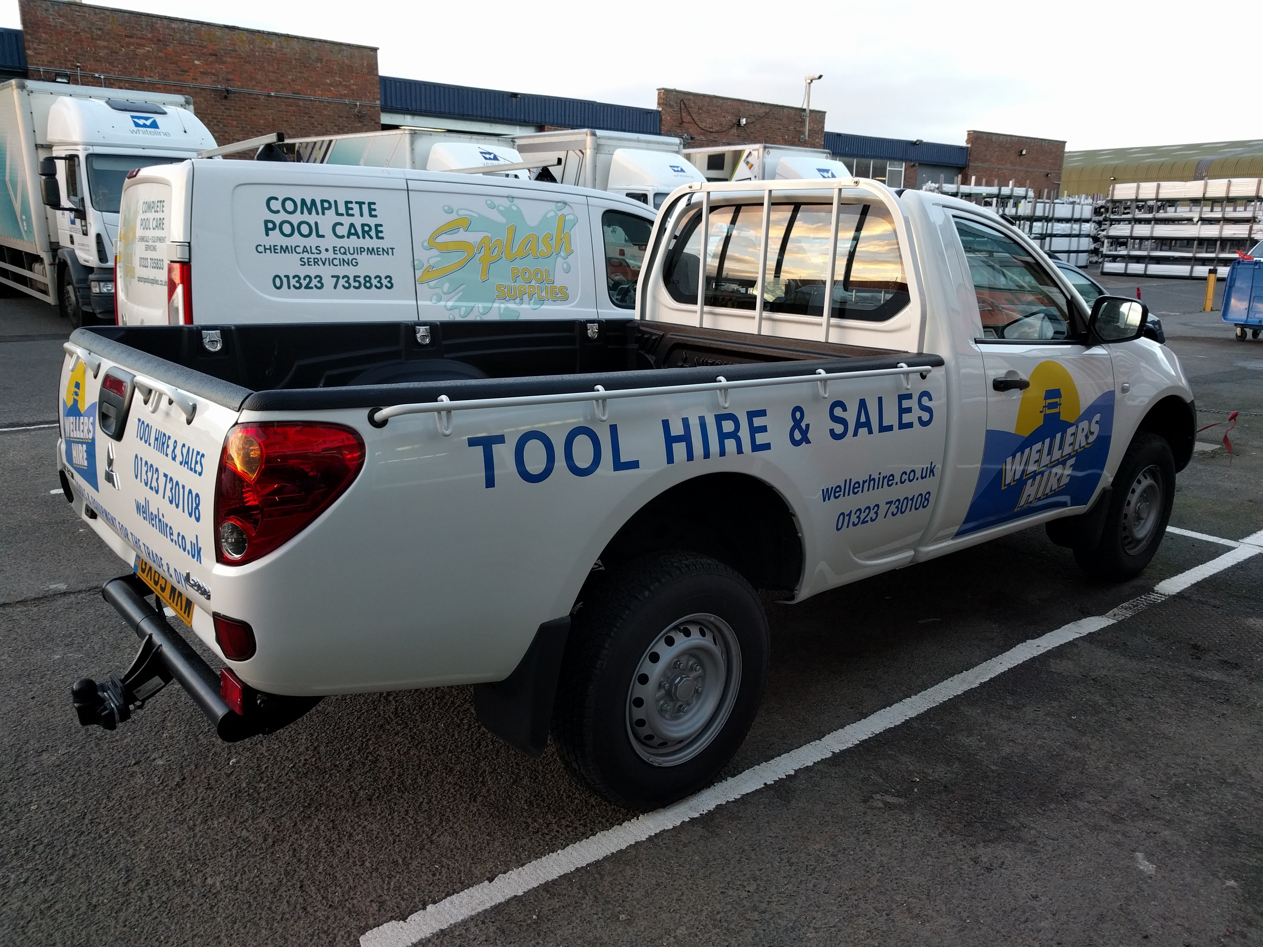 Wellers Hire Delivery Truck